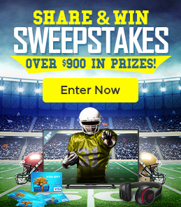 Share and Win Sweepstakes