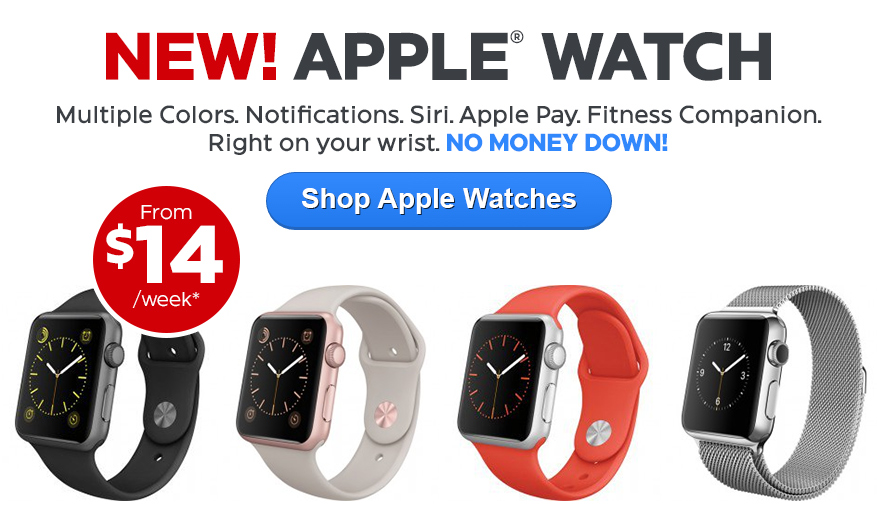 Apple Watches from $16/wk*