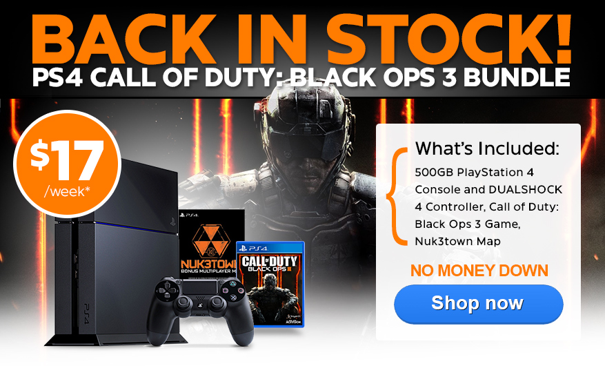 New PlayStation 4 Call of Duty: Black Ops 3