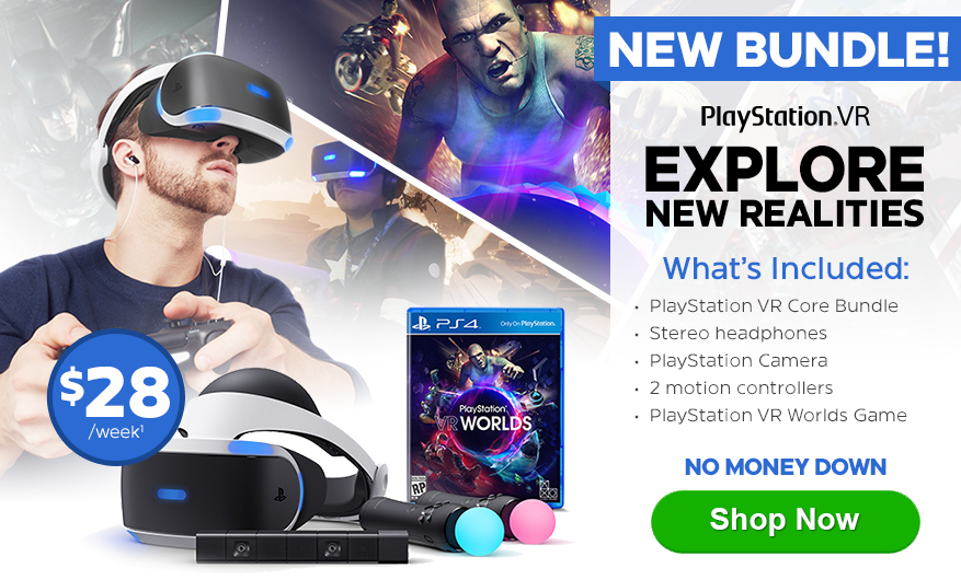 New PlayStation VR Bundle