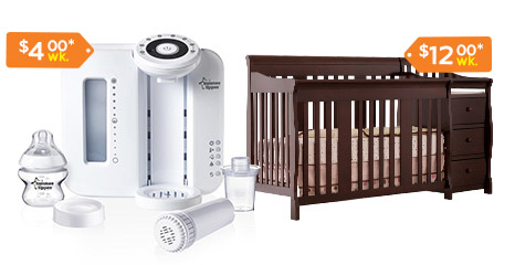 Flexshopper Rent to Own Baby Products