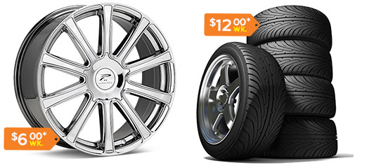 Flexshopper Rent to Own Wheels and Tires
